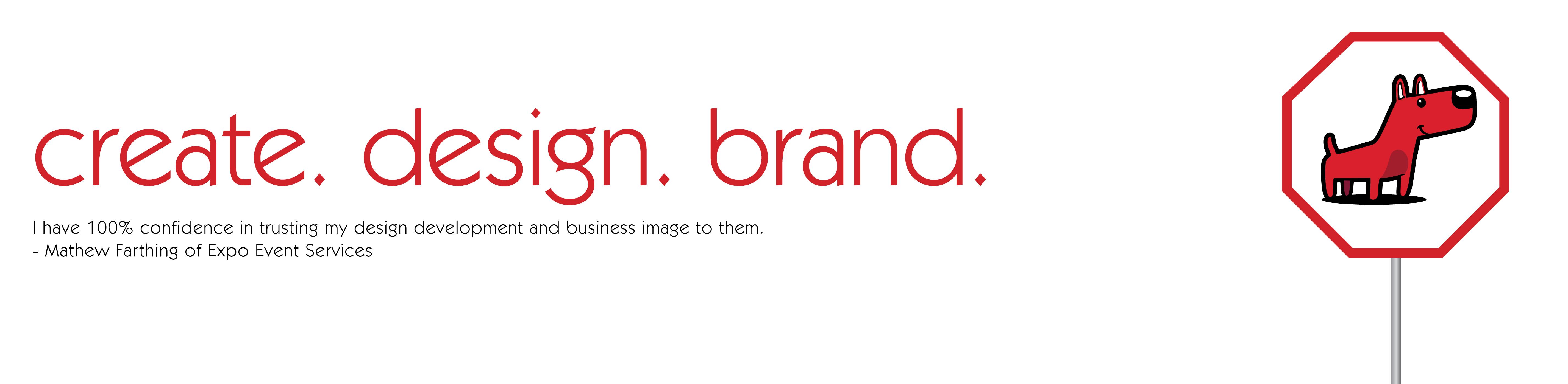 Cteate. Design. Brand