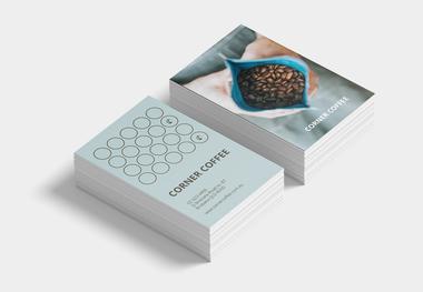 Corner Coffee Loyalty Cards