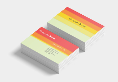90 x 55 business card pastel #1