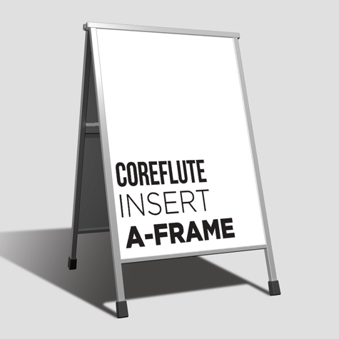 Coreflute Insert A-Frame
