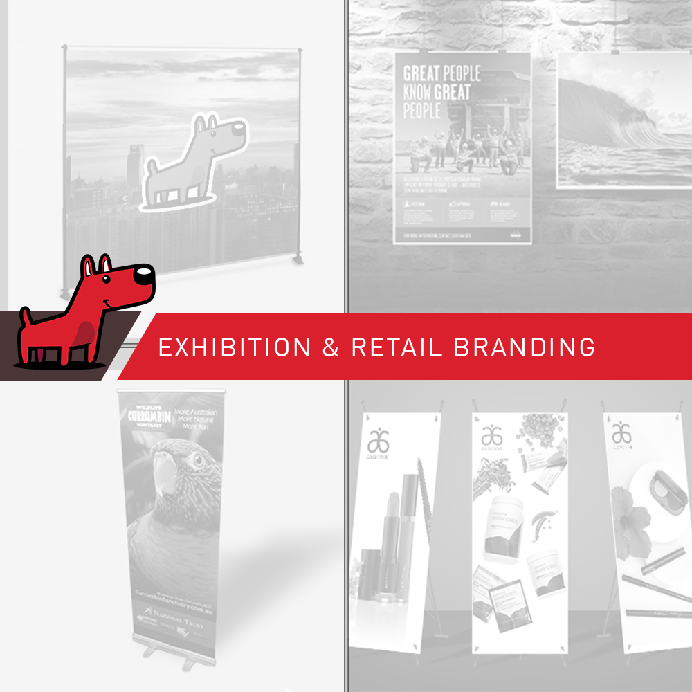 Exhibition & Retail Branding