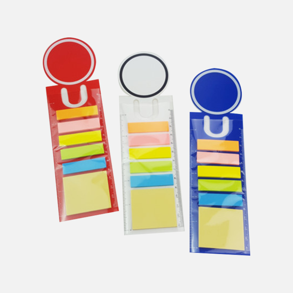 PP Sticky Notes with Boomark and Ruler 7