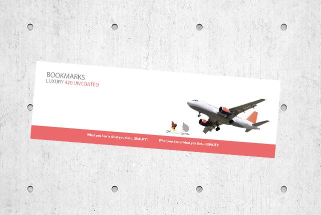 Bookmarks - Luxury 420 Uncoated