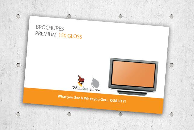 Brochures - Premium 150 Gloss