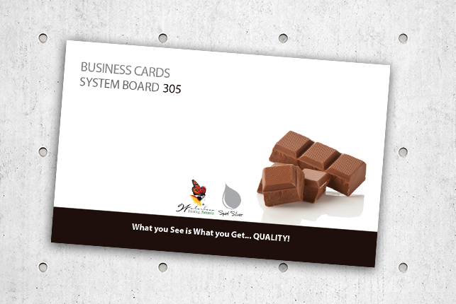 Business Cards - SYSTEM BOARD 305