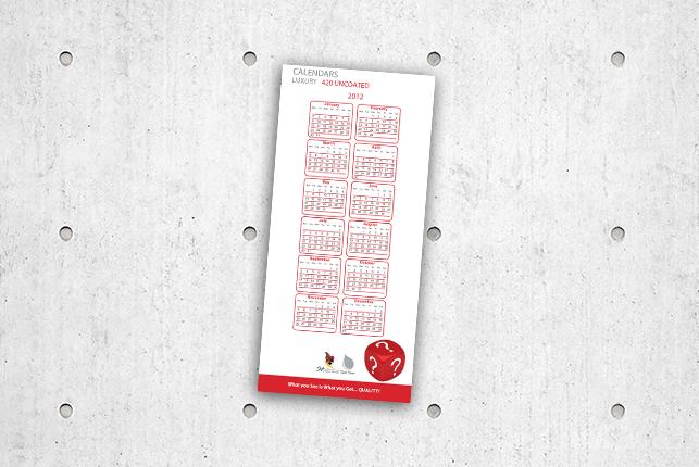 Calendars - Luxury 420 Uncoated