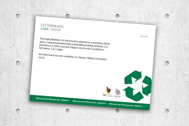 Letterheads - Laser 100GSM